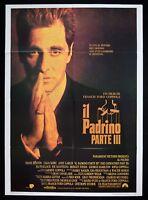 M97 Manifesto 2f the Godfather Parte III the Godfather Ford Coppola Al Pacino