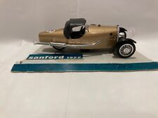 Vintage 1:43 Brumm Gold Cyclecar 1922 Sanford #13 Made in Italy