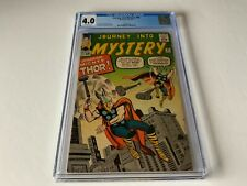 JOURNEY INTO MYSTERY 95 CGC 4.0 THOR VERSUS THOR MARVEL COMICS 1963