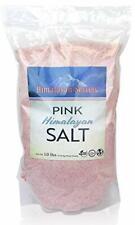 Himalayan Secrets Pink Rock Salt - 10LB - Coarse, Fine, Powder Grain Bulk Siz...