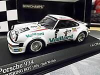 PORSCHE 911 934 DRM EGT1976 Norisring Vaillant we Wollek Minichamps Kremer 1:43