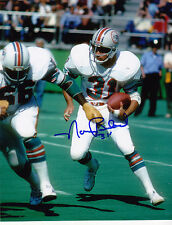 NORM BULAICH  MIAMI DOLPHINS   ACTION SIGNED 8x10