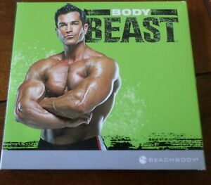 BeachBody BODY BEAST Home Fitness 4 DVD Workout Strength Set Total Body