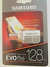 Samsung EVO Plus 128GB UHS-U3 Class 10 100MB/s Micro SD SDXC MemoryCard 128G