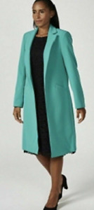 Dressage by Paul Costelloe Long Line Edge to Edge Jacket, Size 10, Green