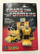 Transformers G1 Walmart Exclusive Reissue Autobot Bumblebee 2018 Brand New USA!