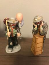 """Emmett Kelly Jr """"Why Me�, exclusively from Flambro plus """"Balloons For Sale�"""