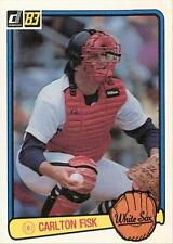 1983 Donruss Carlton Fisk #104 Baseball Card