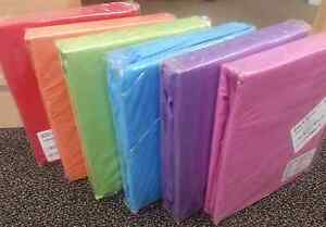 Company Store Bed Sheets Twin, Full,Queen Fitted /Flat 100%Cotton Solid Brights