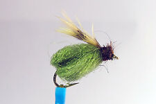 1 x Mouche Nymphe LAFONTAINE PUPE OLIVE H12/14/16 nymph fly truite trout sparkle