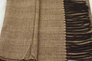 1 Men's Premum Scarf Long Warm Winter Soft Cashmere Feel Black/White/Coffee