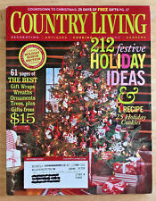 Country Living Magazine 2007 Christmas Decorating Log Cabin Chocolate Molds