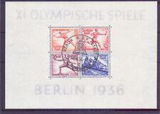 Deutsches Reich 1936 - Olympia Block 6 ESST gestempelt - Michel 90,00 € (924)