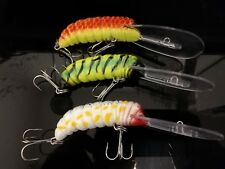 3  bardi grub Cod lures  brand new fishing lures