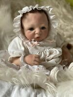 künstlerpuppen Reallife Neugeborene Reborn Baby Puppe Silikon Sheila Michael Neu