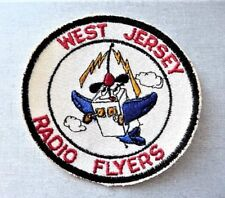 West Jersey Radio Flyers RC airplane Collectible Patch Radio Controlled Airplane