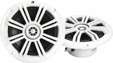 KICKER 41KM604W 6.5 inch 2 Way Marine Speaker - White (Pair)