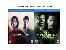 SUPERNATURAL Complete Collection 1-11 BLU RAY Box Set All Season Original UK NEW