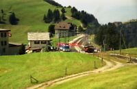 PHOTO  SWITZERLAND RIGI 1995 STAFFEL GENERAL VIEW 7 21/11 TRAM