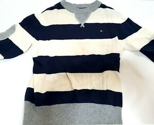 Tommy Hilfiger Casual Sweater Long Sleeves Kids Toddlers Stripe Clothing ~ryokan