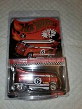 2006 Hot Wheels RLC ~ Customized VW Drag Bus w/Protective case # 11366/13775 Red