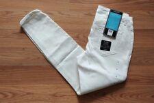 NWT Womens NINE WEST JEANS Gramercy White Skinny Roll Cuff Ankle Jeans Sz 8