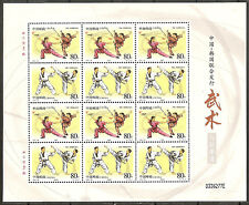 China 2002-26 Kung Fu & Tae Kwun Do Full S/S Joint South Korea 武術與跆拳道