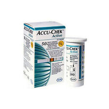 ACCU-CHEK Active For Diabetics Test Strips 50 sheets Expiration date 2017.12
