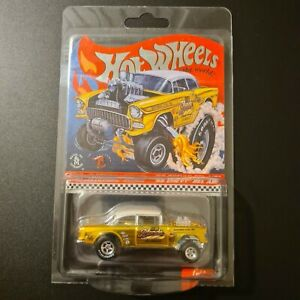 Hot Wheels RLC 2019 Selections 55 Chevy Bel Air Gasser Dirty Blonde