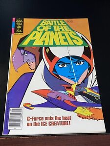 1979 BATTLE OF THE PLANETS #2 Gold Key comics NEWSSTAND variant VF Very Fine