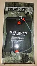 Solar Outdoor Campeggio Doccia 20 LITRI camp shower