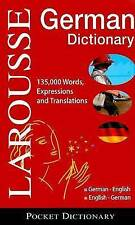 NEW Larousse Pocket Dictionary : German-English / English-German by Larousse