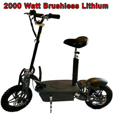 New 2021 Blaze Turbo 2000 watt Lithium Brushless 48v 50a Electric Scooter, 40mph