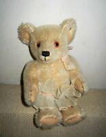 "Steiff Michele D. Clise 1986 Baby Ophelia Bear w/Tutu 10"", 0225/27 - NWT"