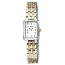 Seiko Women's Two Tone Quartz Watch SXGL61