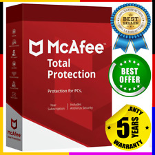 McAfee Total Antivirus 2020 ✅5 Devices / 5 Years Protection Genuine License 🔰
