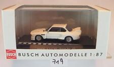 Busch 1/87 BMW 3,5 CSL weiß OVP #719