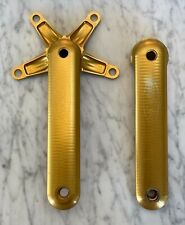 VINTAGE Cannondale Coda Magic Motorcycle Crank arms 172.5mm GOLD!!!