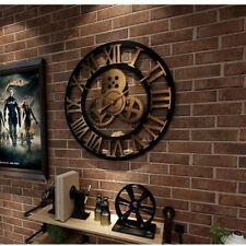 Industrial Gear Wall Clock Decorative Retro MDL Wall Clock Age Style Room Decor