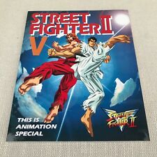 Street Fighter 2 Victory This Is Animation Special Art Book, Japanese, Capcom