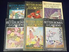 1929 BETTER HOMES U0026 GARDENS MAGAZINE LOT OF 9   GREAT COVERS U0026 ADS   O 2781