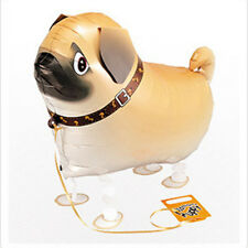 Children Walking Foil Pet Pug Dog Balloon Helium Fun  Party Birthday DecorJDUK