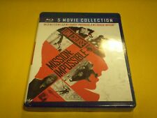 Mission Impossible 5-Movie Collection  (5 Blu-Ray Disc set, 2018) Tom Cruise NEW