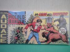 Collana AUDACE il Piccolo Ranger Striscia Fumetto  Anastatica  2°serie N 18 CU