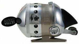 Zebco Omega Z03 Professional Spincast Reel 2.9:1 Ratio, 6+1 Ball Bearings NO BOX