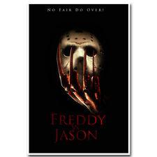 Freddy vs Jason Horror Movie Silk Poster 12x18 24x36 inch