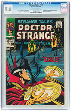 Strange Tales #168 CGC NM+ 9.6 Doctor Strange Nick Fury