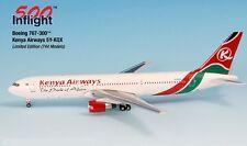 Kenya Airways 5Y-KQX 767-300 Airplane Miniature Model Metal Die-Cast 1:500 Part#