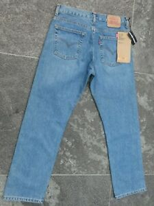 LEVI'S 535 GIRLS STANDARD FIT BLUE JEANS W 32 L 30 NEW WITH TAGS!!!!!!!!!!!!!!