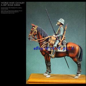 54mm Horse & Soldier Unpainted Resin Model Kit Unassembled Garage Kit GK Figure